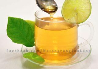 Tác dụng của việc uống chanh mật ong
